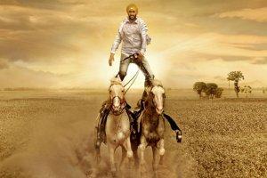 Ajay Devgan On Horse